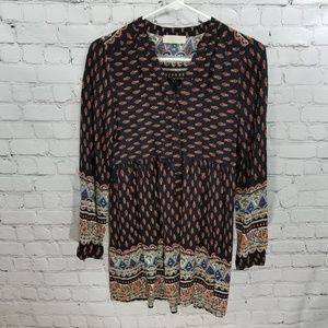 Altar'd State Tunic Style Blouse Size S
